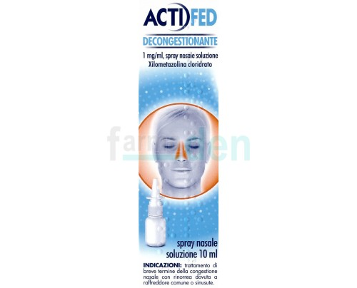 Actifed Spray Decongestionante nasale 10 ml.