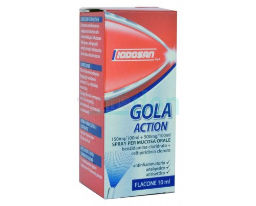 Iodosan Gola Action Spray per mucosa orale 10 ml.