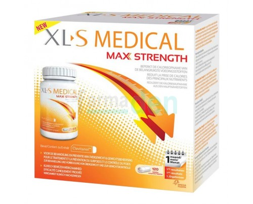 XLS Medical Max Strength Integratore Dietetico 120 Compresse
